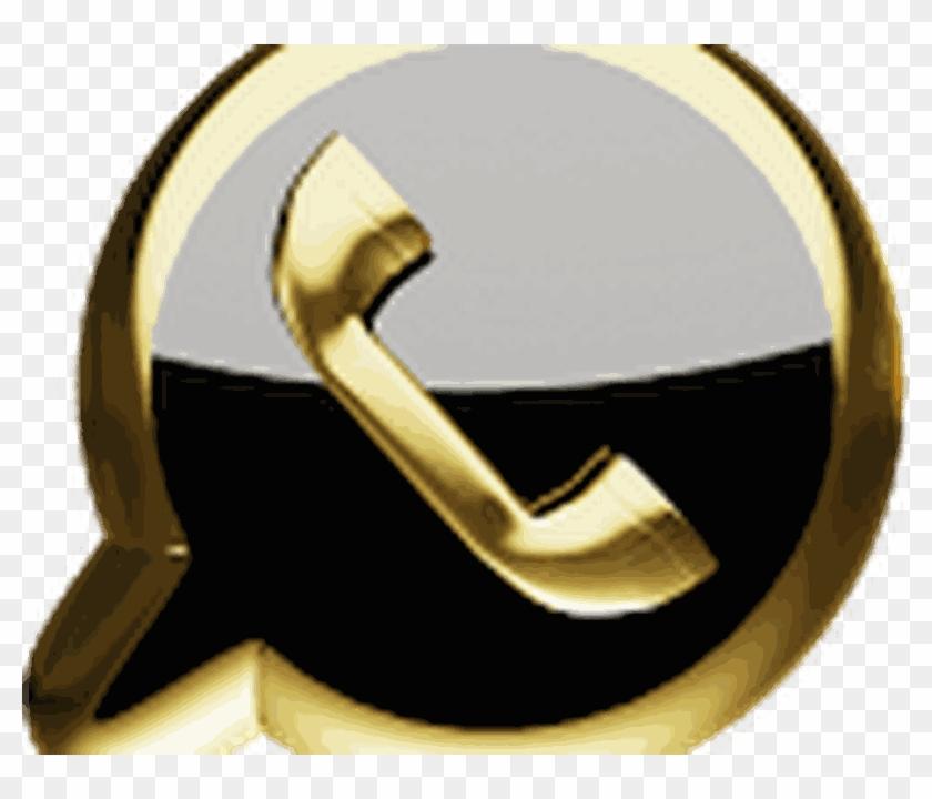 Logo Whatsapp Dourado.
