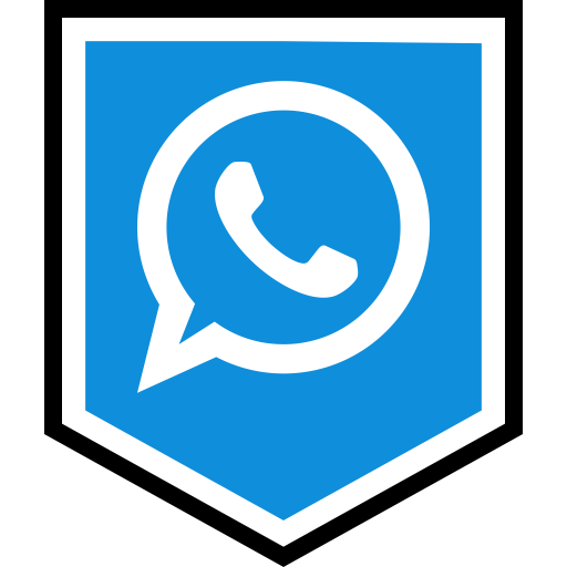 Logo, media, social, whatsapp icon.