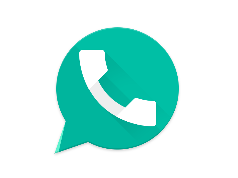 Whatsapp Icon Blue Png (+).