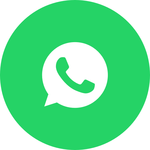 Circle, message, messaging, messenger, round icon, whatsapp icon.