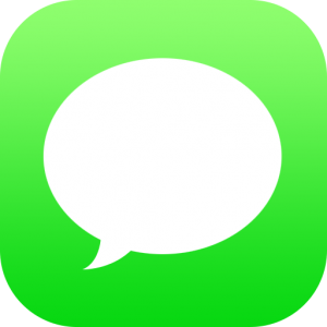 Iphone Messenger Icon #10625.