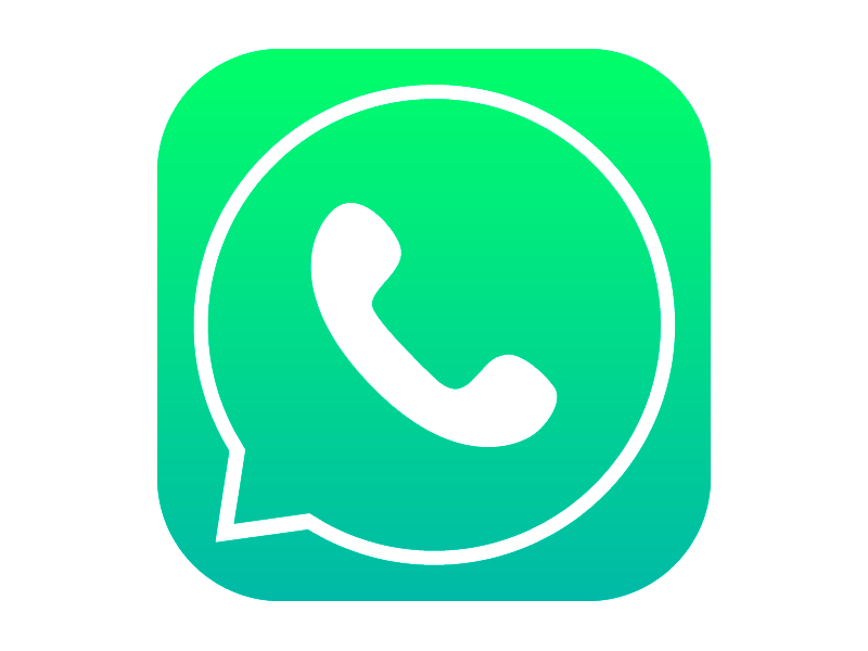 Whatsapp icon with iOS7 style.