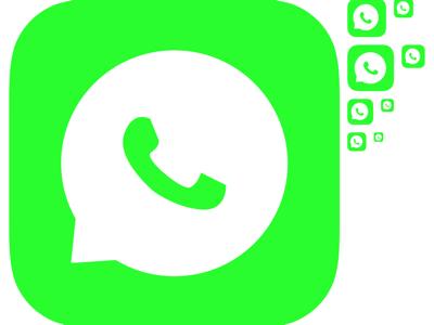 whatsapp icon Sketch freebie.