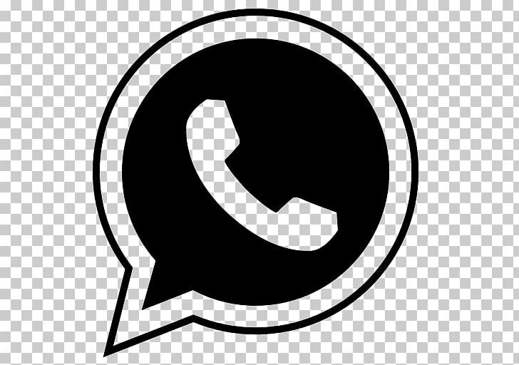 WhatsApp Computer Icons , whatsapp, black Whatsapp logo PNG.