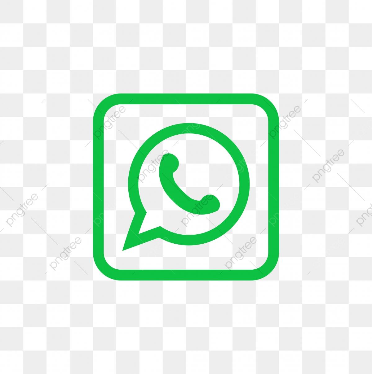 Whatsapp Social Media Icon Design Template Vector Whatsapp Logo.
