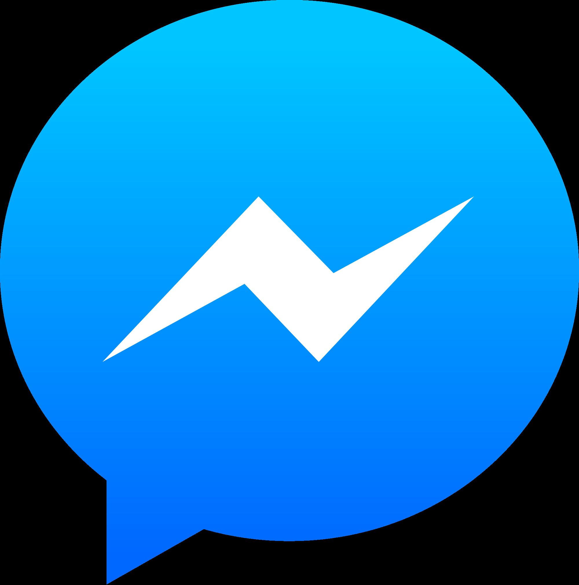 Messenger Logo transparent PNG.