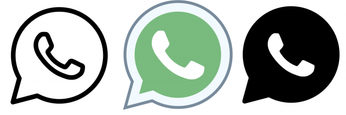 Whatsapp Png Icon Vector, Clipart, PSD.