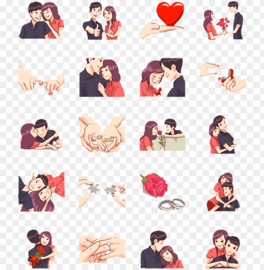 sticker for whatsapp status PNG image with transparent.