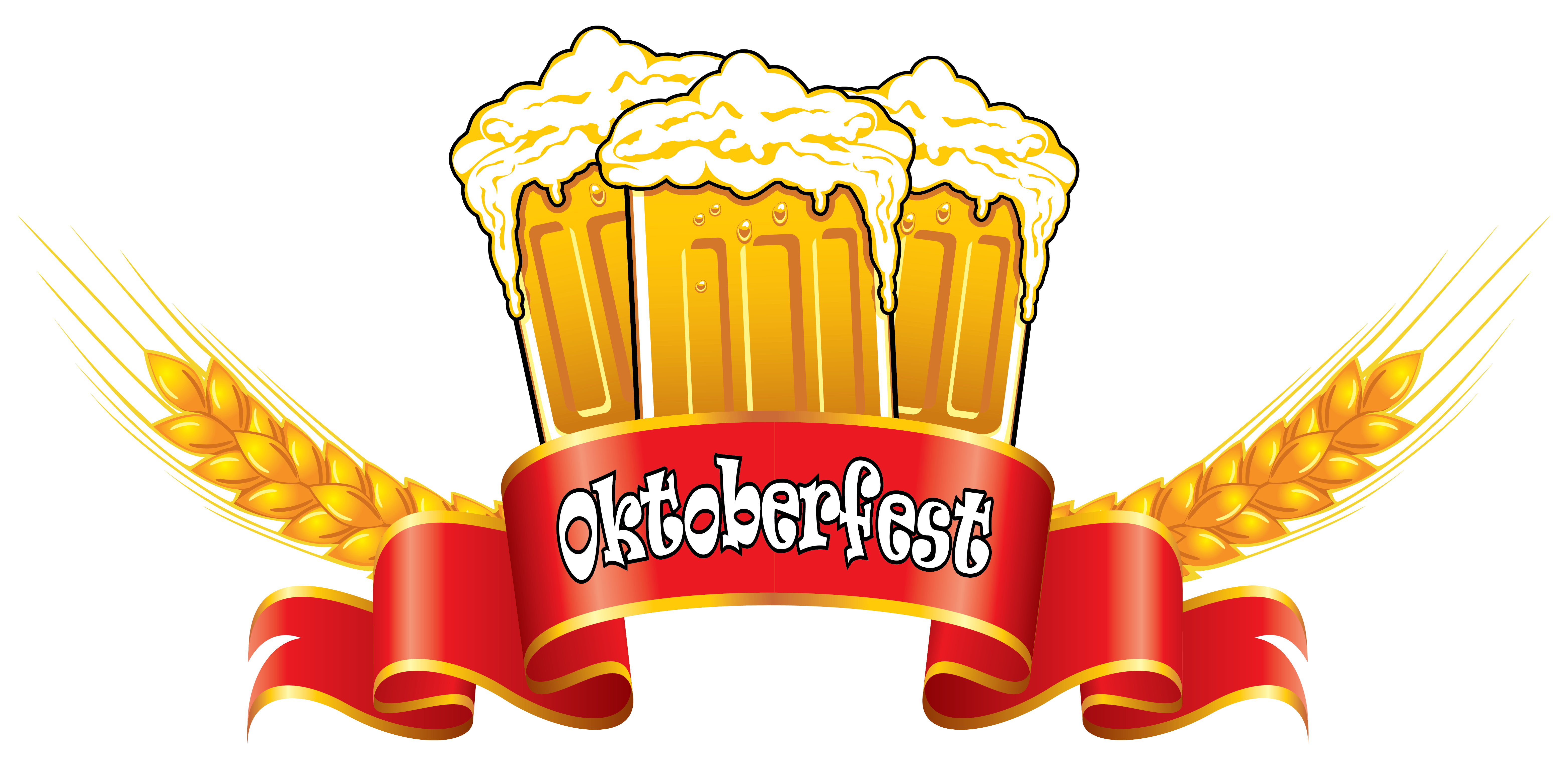 Wheat beer clipart #16