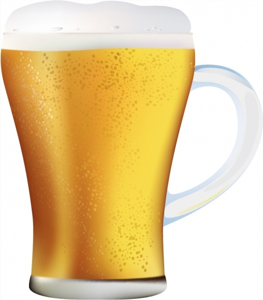 Beer glass free vector download (2,474 Free vector) for commercial.