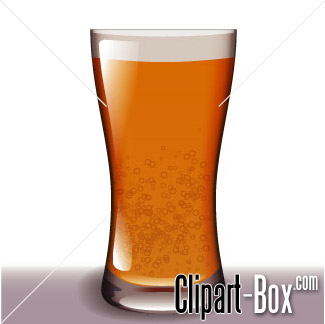With Wheat Beer Glass Clip Art.