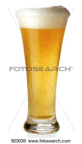 Stock Photograph of A glass of Weissbier (wheat beer) 923039.