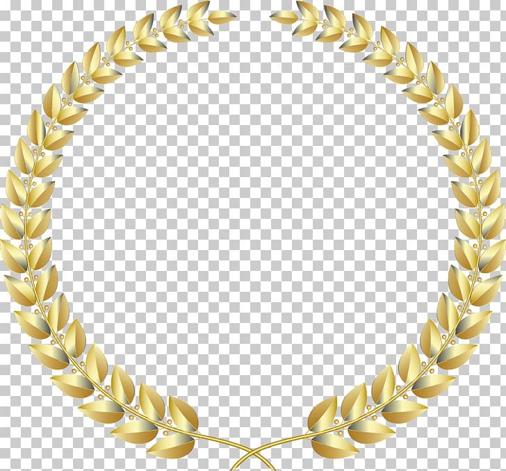 Laurel wreath Gold , Gold ring fine wheat, round leaf.