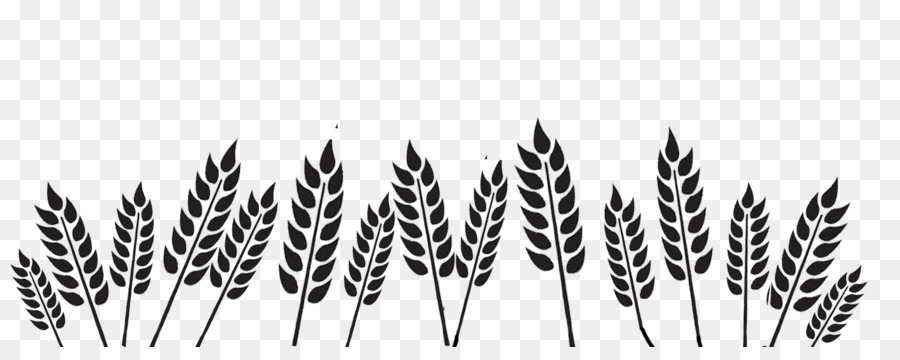 Wheat Field Png Black And White & Free Wheat Field Black And.