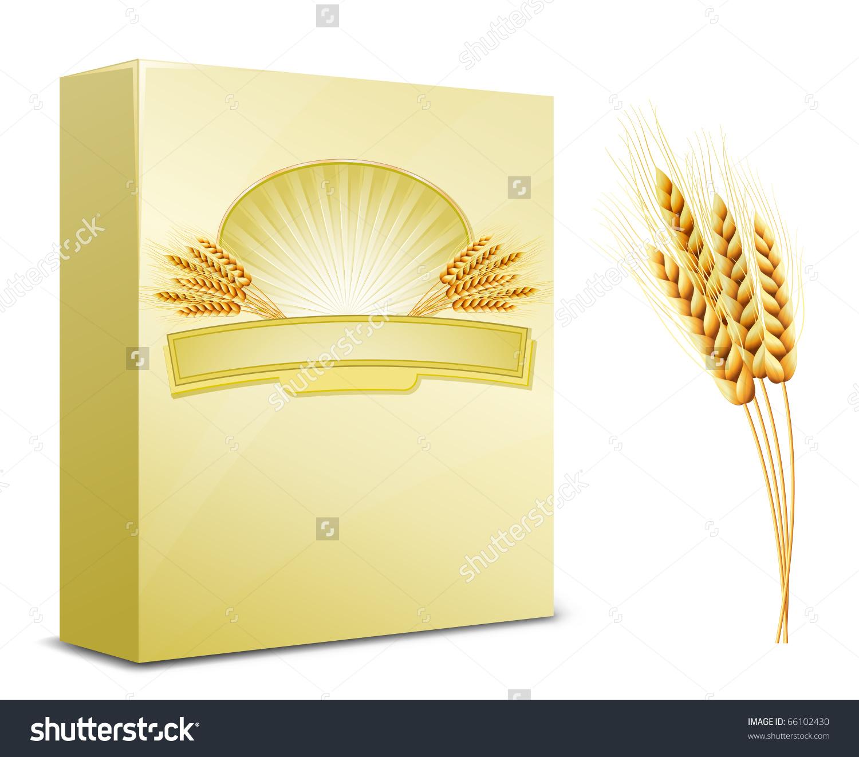 Package Design Wheat Flour Pasta Macaroni Stock Vector 66102430.