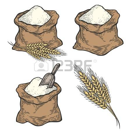 8,875 Wheat Flour Stock Illustrations, Cliparts And Royalty Free.
