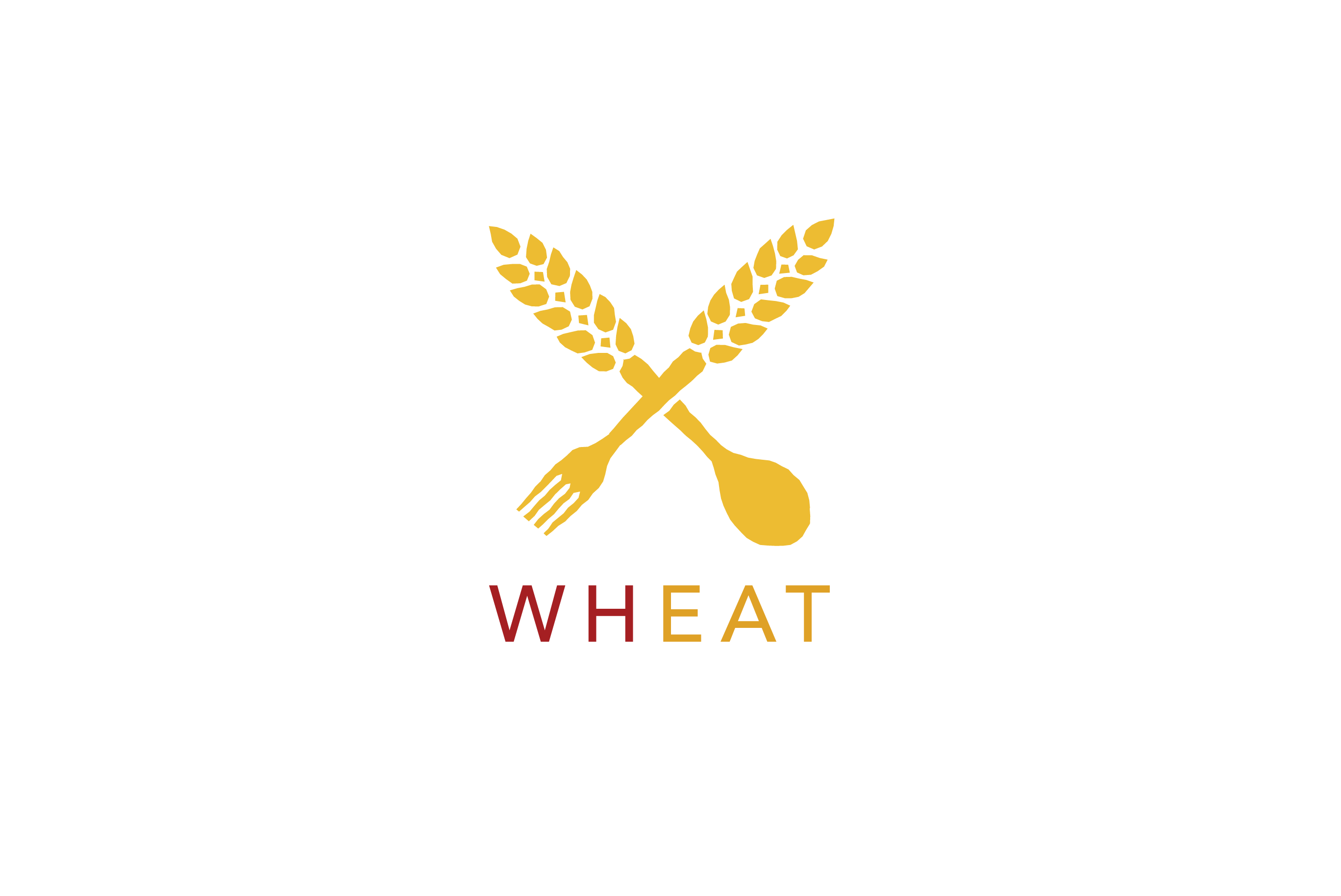 Wheat Logo Design.