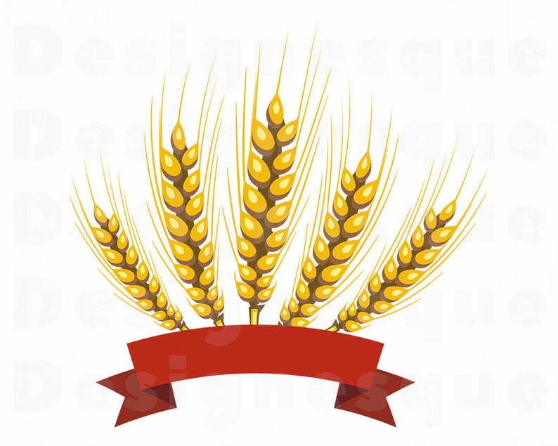 Wheat Logo SVG, Wheat Svg, Grain Svg, Wheat Clipart, Wheat Files for  Cricut, Wheat Cut Files For Silhouette, Wheat Dxf, Wheat Png, Eps, Svg.