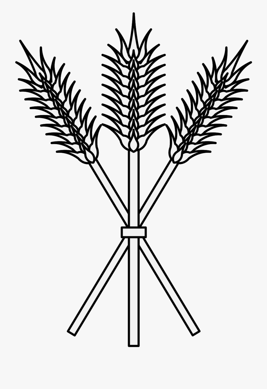 Clip Art Sheaf Of Wheat.