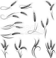 Image result for art nouveau wheat sheaf clip art.