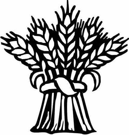 Wheat Sheaf Clipart.