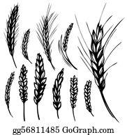 Wheat Clip Art.
