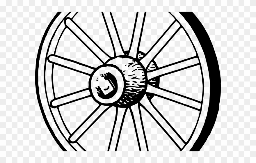 Wheel Clipart Wagon Wheel.