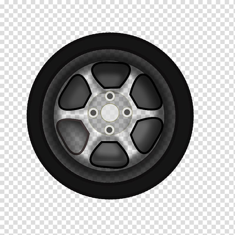 Car Wheel , cartoon pattern transparent background PNG.