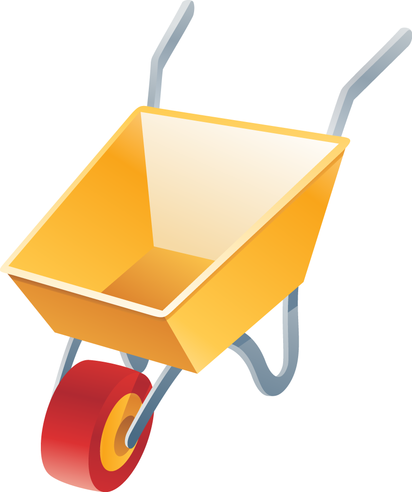 Image For >, Wheelbarrow Clipart.