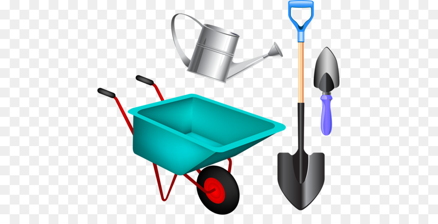 Wheelbarrow Background clipart.