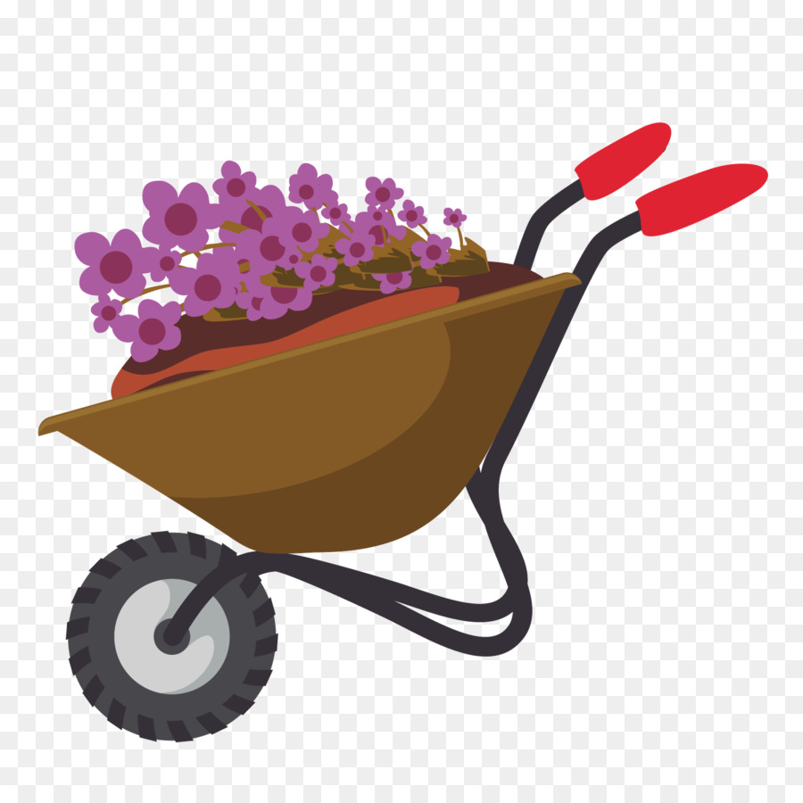 Wheelbarrow Background.