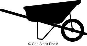 Wheelbarrow Vector Clipart Illustrations. 4,035 Wheelbarrow clip.