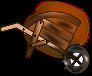 Wheelbarrow Clip Art at Clker.com.