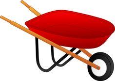 Wheelbarrow clipart free.