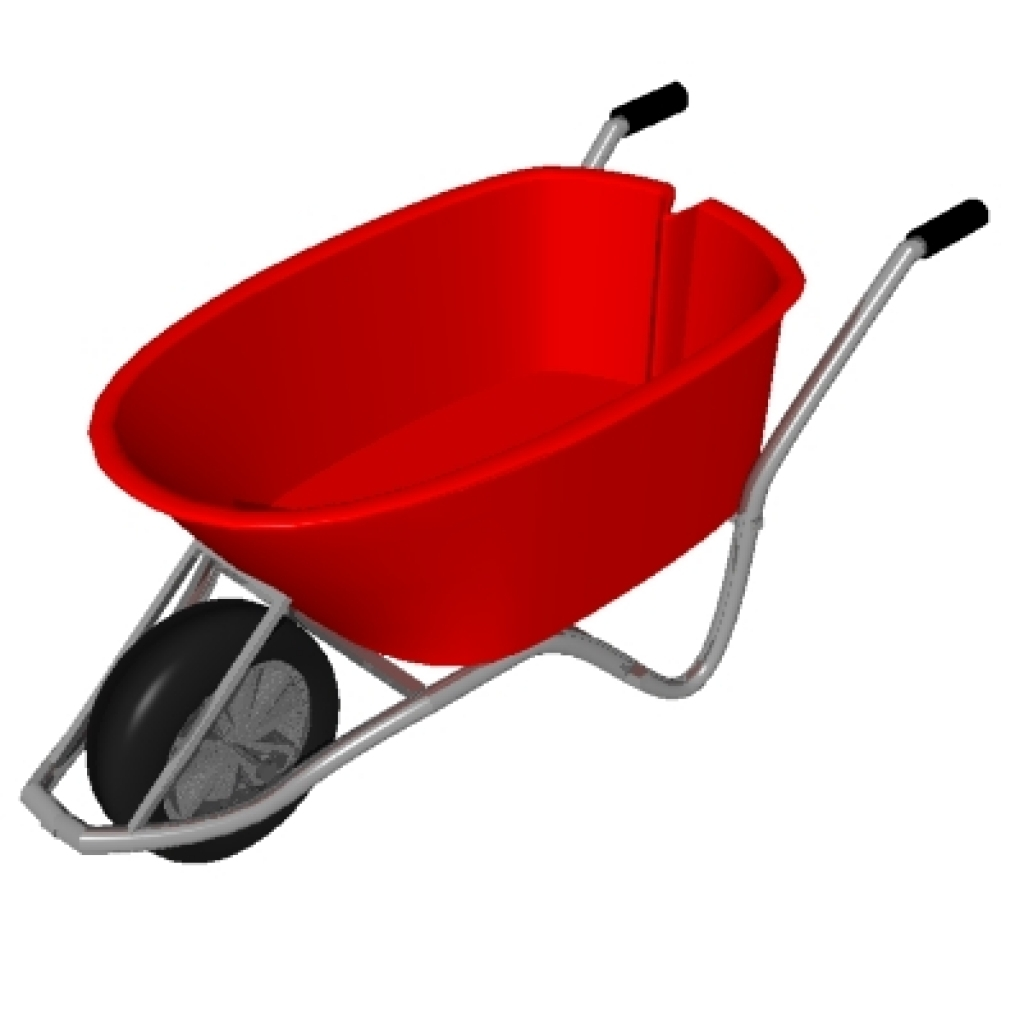 WHEEL BARROW CLIP ART.
