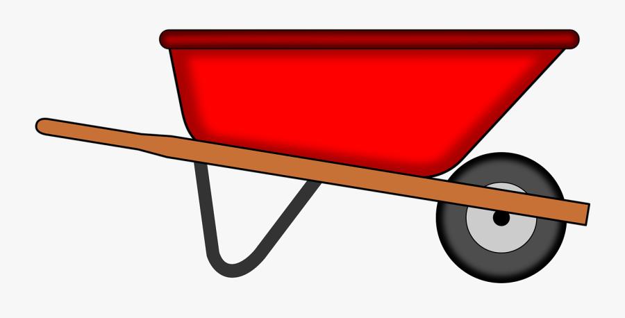 Wheelbarrow Tools Free Vector.