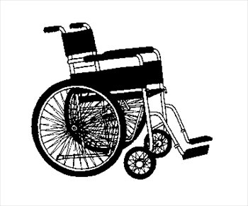 Wheelchair Clipart.