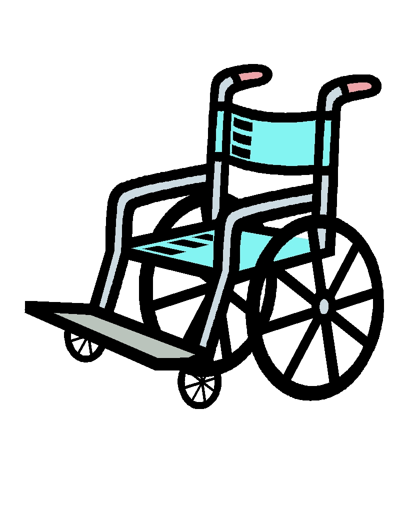Wheelchair clipart the cliparts 2.