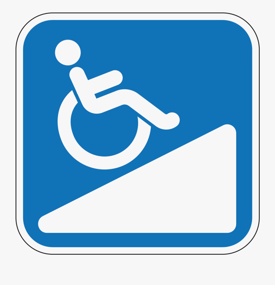 Wheelchair Ramp Transparent Clipart , Free Transparent.