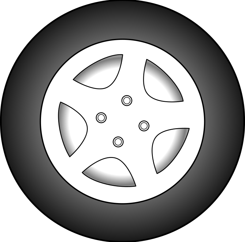 Free Clipart: Wheel.
