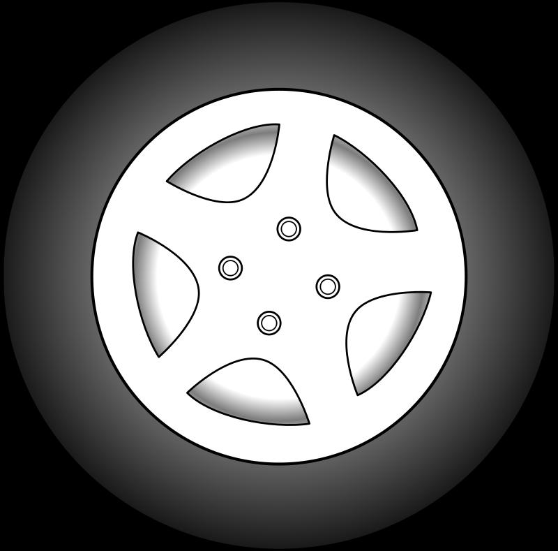 Free Clipart: Wheel.