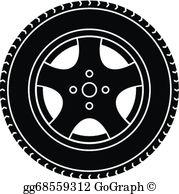 Car Wheel Clip Art.