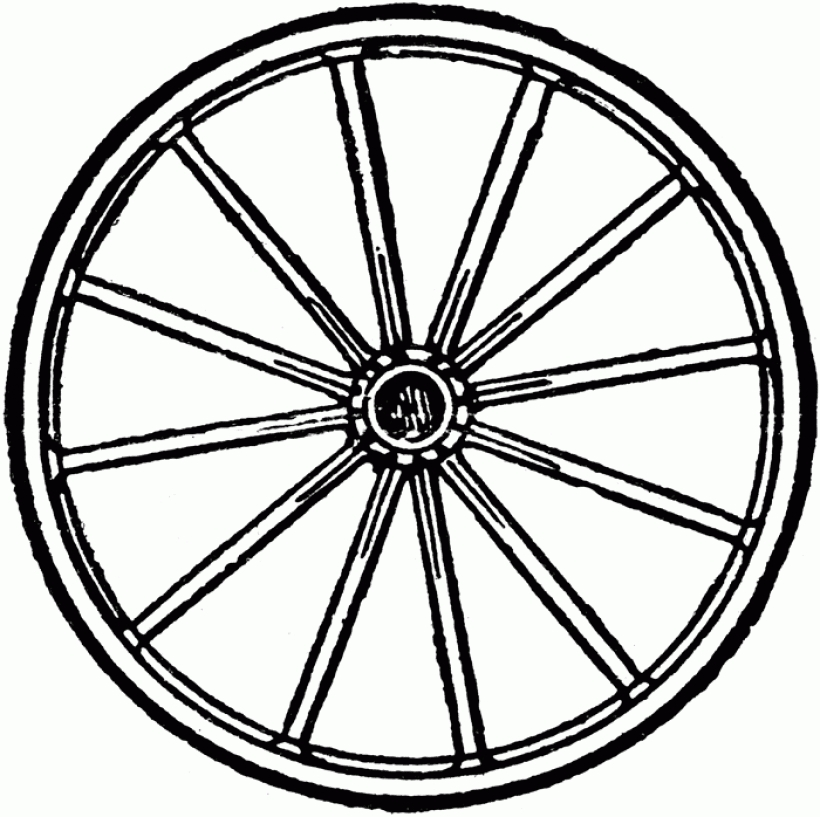 Wheel pictures clip art.