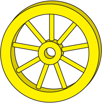 Wheels Clip Art Free.