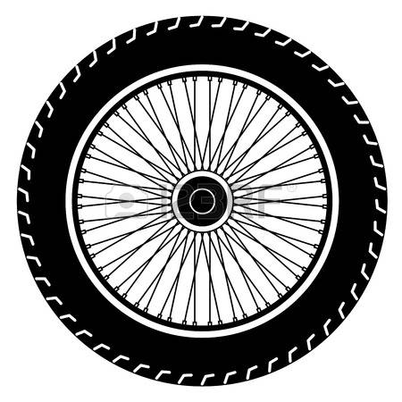Motorcycle Wheel Clipart.