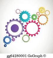 Cog Wheel Clip Art.