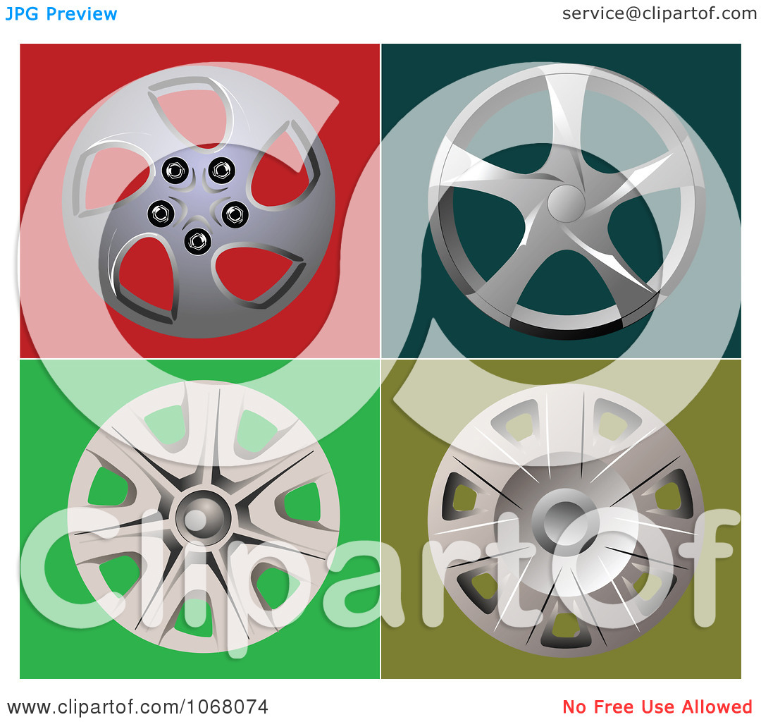 Clipart Wheel Covers.