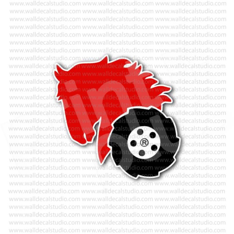 Wheel Horse Tractor Power Equipment Sign Sticker.