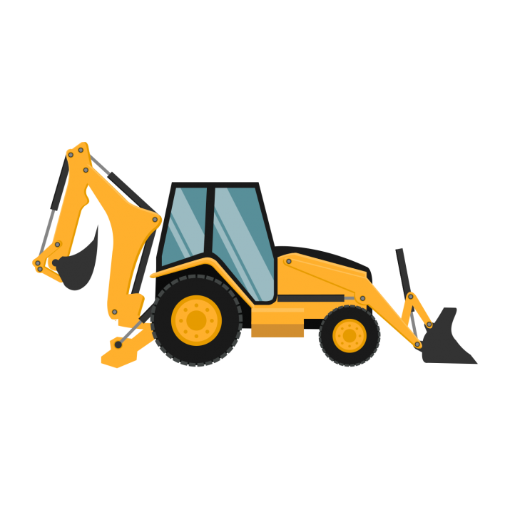 Wheel Loader PNG.