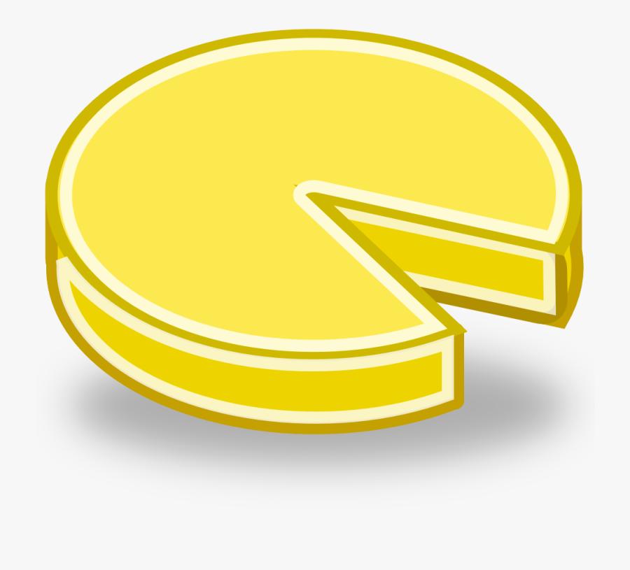 Cartoon Cheese Wheel , Free Transparent Clipart.
